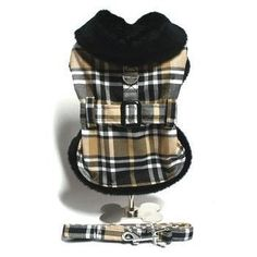 Classic Brown Plaid Minky Fur Collared Harness Jacket and leash for dogs! Fully lined for warmth in soft,plush faux fur,rollover collar,adjustable front closure Frozen Dog Treats, Fleece Dog Coat, Pet Style, Pet Costumes, Dog Coats, Dog Harness, Dog Accessories, Fur Collars, Dog Design