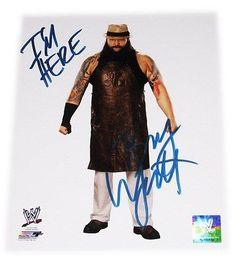 WWE BRAY WYATT HAND SIGNED AUTOGRAPHED 8X10 PHOTO FILE PHOTO WITH COA 3
