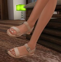 For the longer walk in a comfortable way... REIGN.- Vitality Sandals- Tan