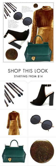 """""""Без названия #34"""" by bashiras ❤ liked on Polyvore featuring Bamboo, A.L.C., Dolce&Gabbana and JINsoon"""