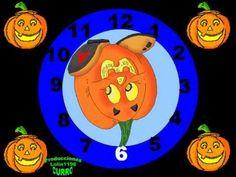 Cuando el reloj marca la una, los esqueletos salen a bailar!