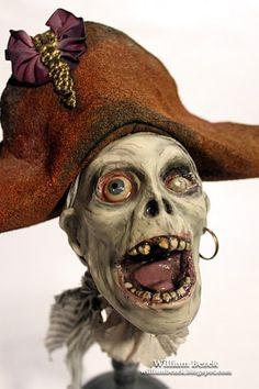 5 More Minutes: Halloween: Featured Artist William Bezek Zombie Life, Zombie Eyes, Zombie Art, Jacob Marley, Edwardian Costumes, Halloween Contacts, Halloween Fun, Halloween Tricks, Halloween Goodies