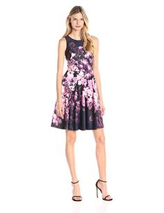 Lower price on certain sizes...Eliza J Women's Sleeveless Floral Fit and Flare, Multi, 4... http://www.amazon.com/dp/B01955MFXU/ref=cm_sw_r_pi_dp_k1hwxb1K850PN