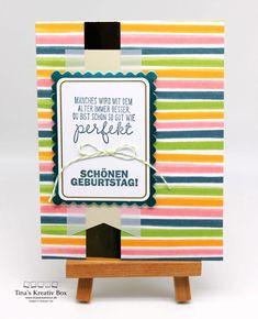 Karten Bastelset – Fabelhaft – mit Produkten von Stampin' Up! Box, Stampin Up, Community, Frame, Paper, Card Crafts, Creative, Gifts, Picture Frame