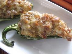 Jalapenos Stuffed with Sausage