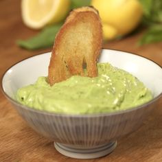 This is not the original Pesto sauce, but it is pretty delicious. Avocado Pesto, very easy and tasty recipe.