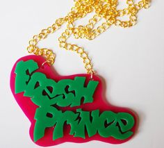 The Fresh Prince of Bel Air necklace