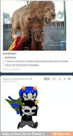 Can't be unseen...OMG the fandom people of Homestuck I love you