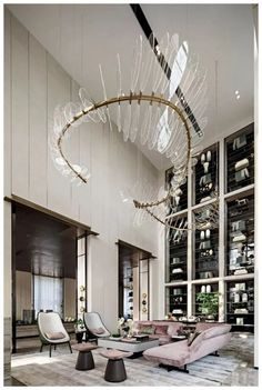 Stunning luxury interior design ideas from modern boutique hotels. Lobby, bedroom, stairways and entryways, a room by room guide to find inspiration with the best interior architecture from world renowned hotels. Home Interior Design, Hotels Design, Room Design, Interior Design, House Interior, Luxury Interior, Hotel Lobby Design, Luxury Living Room Design, Interior Design Projects