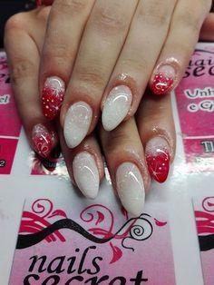 Xmas nails #xmasnails #christmas #natal2016