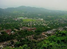 "Guwahati : The name (Guwahati) is a combination of two words: ""Guwa"" meaning areca nut and ""Hat"" meaning market. Guwahati is the commercial nerve centre of the North-East."
