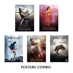 #Baahubali Posters combo pack for Rs 500 #onlineshopping http://goo.gl/50OhGg