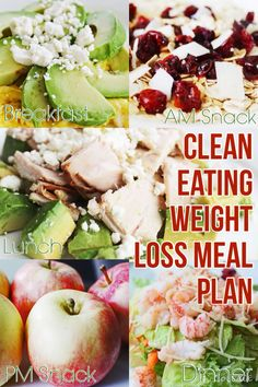 Click pin for more #cleaneating and #weightloss meal plans!