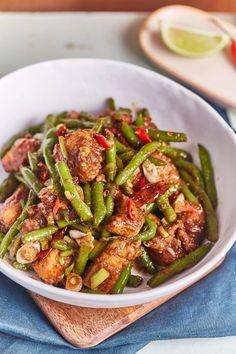 Szecsuáni csirke zöldbabbal | Street Kitchen