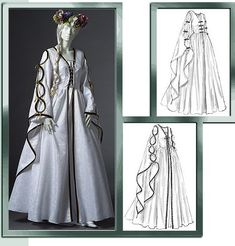 Yep, This is the one that I want to make, just in different colors and reversible so that I can wear it for other ren. faires