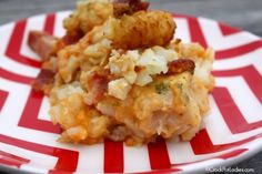 Are you looking for a kid friendly recipe? Look no further! This recipe for Crock-Pot Cheesy Chicken Ranch Tater Tot Casserole will knock their socks off!