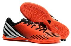 finest selection b4b12 85341 Adidas Predator LZ IC Clear Total Orange White Black Beckham Soccer Shoes   52.39 Indoor Football Shoes