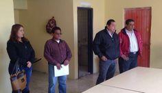 Sindicato de Servidores Públicos en acción, visitando a los compañeros del Panteón Jardín.