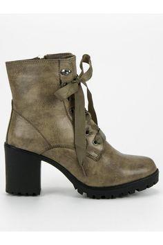 Zateplené zelené topánky na platforme Queentina Platform, Ankle, Shoes, Fashion, Shoes Outlet, Fashion Styles, Shoe, Footwear, Wedge