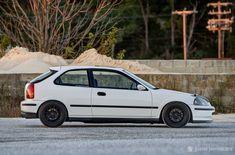 Honda Civic EK via Justin Jermacans