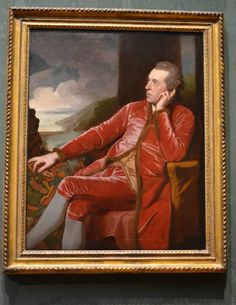 Richard Cumberland by George Romney oil on canvas, circa 1776 National Portrait Gallery