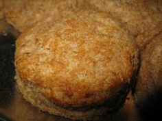 The quest for the perfect biscuit that is also healthy has come to a successful end! These are amazingly tender and flavorful biscuits. They are made with whole wheat flour made from wheat berries that I sprouted just until tiny sprouts began to show, then dehydrated and ground them.