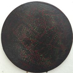 Yap Poh Tiam Raymond Infinite Possibilities Series Gloss Paint on MDF board 30cm Diameter (each)