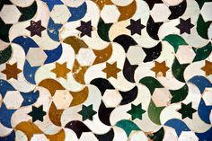 Tessellations from Alhambra