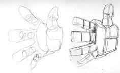 Illustrations/Digital Models: - Drawing Transformers: Part The Basics Manga Drawing Tutorials, Art Tutorials, Drawing Sketches, Art Drawings, Drawing Lessons, Drawing Techniques, Drawing Reference Poses, Art Reference, Transformers Drawing