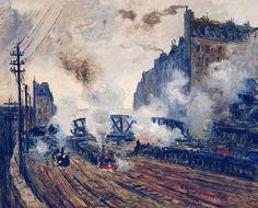 Claude Monet, Monet Paintings, Landscape Paintings, Artist Monet, Art Japonais, Time Painting, Pierre Auguste Renoir, Degas, Famous Art