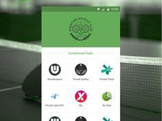 Racquet.io Android App