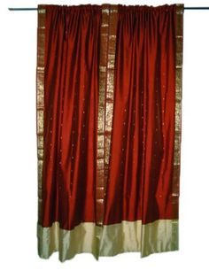 Bohemian Fall, Bohemian Decor, Window Drapes, Drapes Curtains, Indian Inspired Decor, Bohemian Interior Design, Window Dressings, Red Art, Fall Collections
