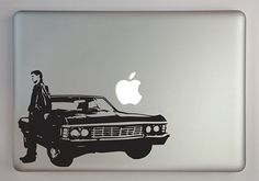 Supernatural inspired Dean with Impala by overlyattacheddecals #supernatural