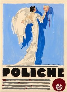 Jean A. Mercier (français, né en 1899) Titre : Poliche, Abel Gance , 1934