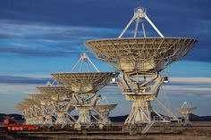 The Very Large Array: Radio telescopes can be found the world over. They are used in radio astronomy, the science of studying, at radio frequencies, celestial objects such as galaxies and stars as well as more difficult to understand phenomena such as Masers and Pulsars.