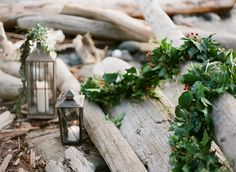 Published: Rustic Red and Seaside Green. Produced by Fleur de Lis Events, as seen on SMP  http://www.stylemepretty.com/little-black-book-blog/2014/12/24/rustic-red-green-seaside-inspiration/