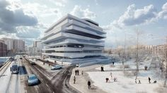 Zaha Hadid - Project - Dominion Office Building