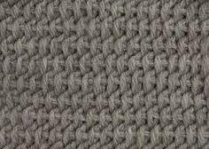 tunisian crochet - Buscar con Google