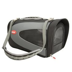 $111.44-$128.00 Teafco Small Argo Petascope Airline Approved Carrier,  Black - You fly in style why shouldn't your pampered pet? The Petascope Carrier by Argo is an exclusive design and the only one like it on the market, successfully combining travel shelter with style. Designed to meet strict airline pet carrier regulations, while remembering the comfort and safety needs of the pet traveler. Yo ...