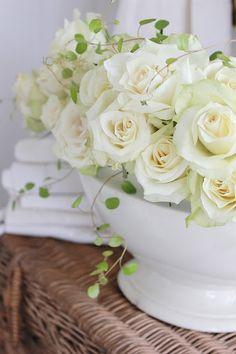 Blomster er bare en FRYD å fotografere....og hvite roser...sukk...og atter sukk! Det er bare mitt drømmeobjekt...og i dag har jeg kost meg med nettopp det. Velkommen alle sammen og bli med i min verden av HVITE ROSER !