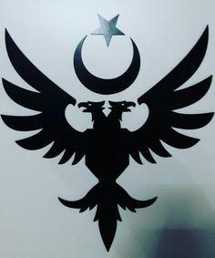 Double headed eagle of Seljuk State. Double headed eagle of Seljuk State. Tattoos Mandala, Tattoos Geometric, Adler Tattoo, Brust Tattoo, Double Headed Eagle, Latest Tattoos, Eagle Tattoos, Book Of Kells, Stencil Templates