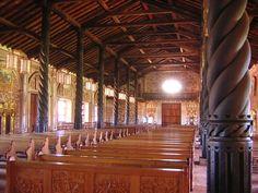Misión de Concepción de Chiquitos, Bolivia. Interior de la iglesia Fuente: http://www.skyscrapercity.com/showthread.php?t=677488