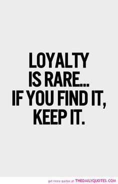 Ik ben een loyaal persoon, als ik weet dat mensen mij vertrouwen zal ik dan ook trouw blijven aan hen. Ik zal die mensen dan ook nooit laten vallen.