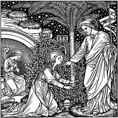 Jésus ressuscité apparaît à Marie Madeleine