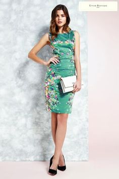 062e38564610 Buy Uttam Boutique Cascading Floral Mirrored Jersey Dress from the Next UK  online shop
