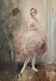 The wistful ballerina.