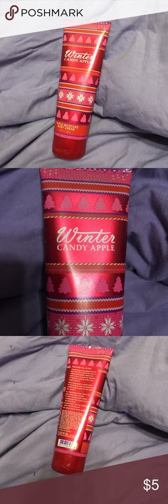 Bath & Body Works Winter Candy Apple Body Lotion Triple moisture body cream. Very little used. Bath & Body Works Other