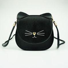 Meow Whiskers Bag. Cat BagCat PurseKids PurseSmall HandbagsKawaiiSmall  Shoulder ... 9c370e915a68b