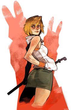 Heather Mason (Silent Hill 3) by pixmilk