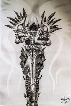Tribal Sleeve Tattoos, Forearm Sleeve Tattoos, Best Sleeve Tattoos, Leg Tattoos, Body Art Tattoos, Angel Sleeve Tattoo, Arm Tattoos For Guys Forearm, Angel Back Tattoo, Tattoos Skull